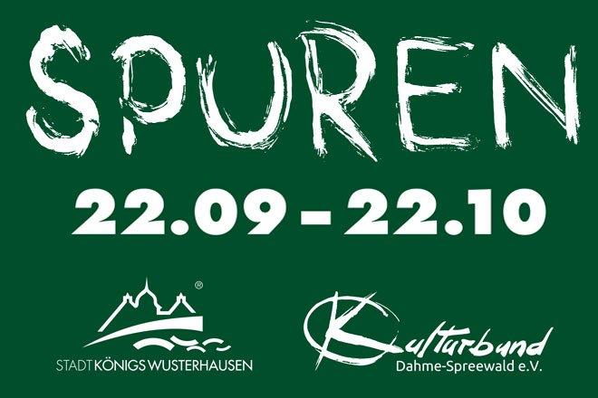 """Werkausstellung """"Spuren"""""""