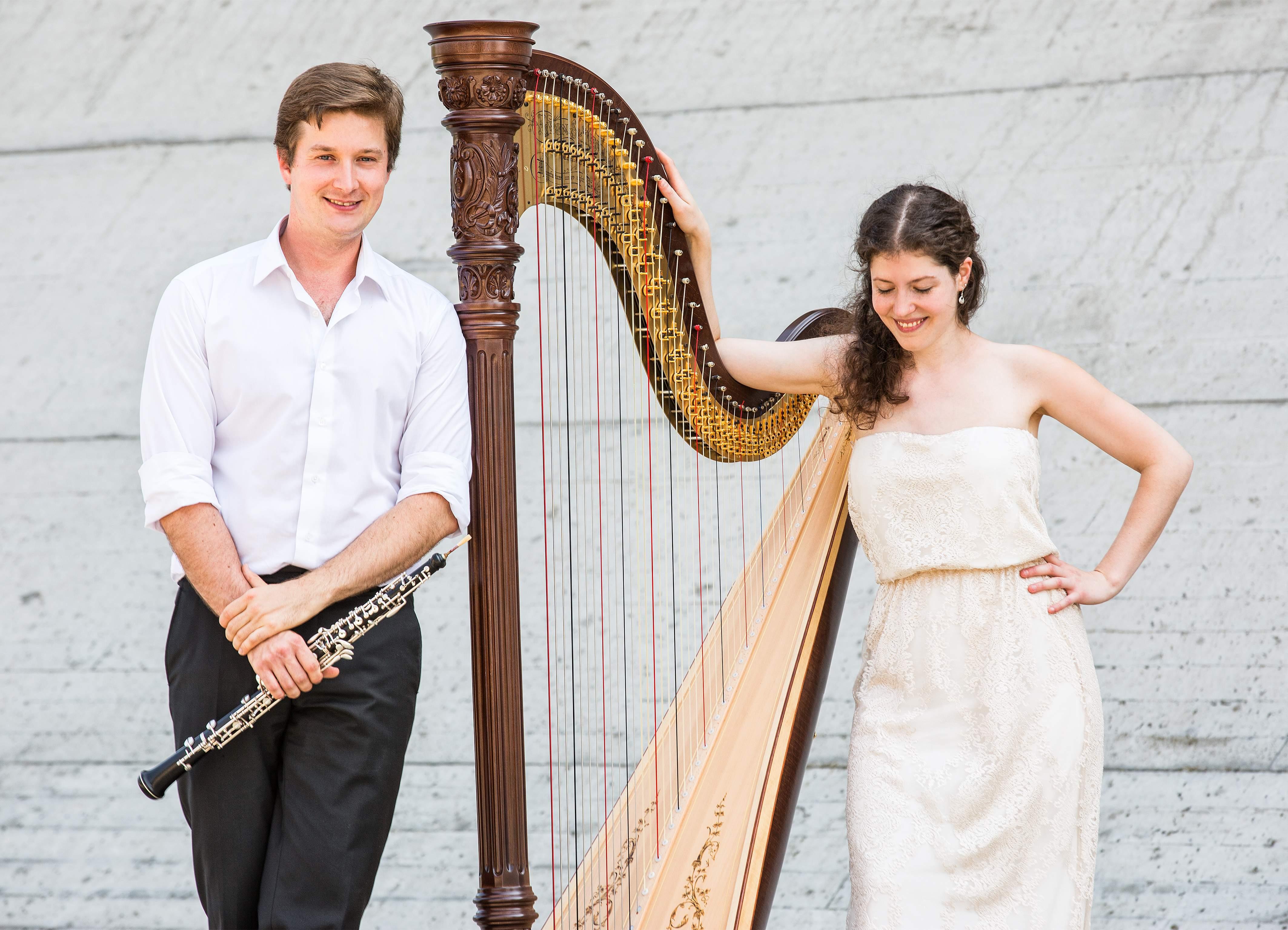 Konzert für Harfe und Oboe