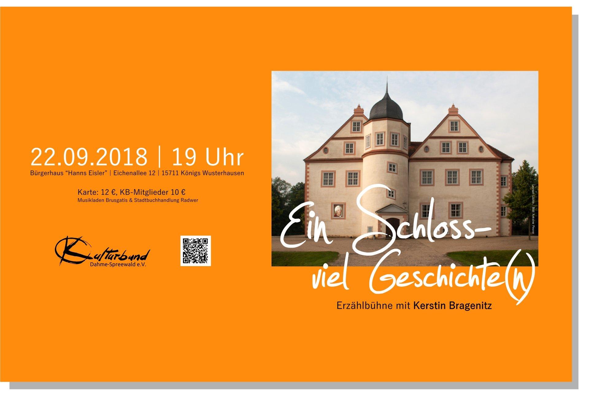 Ein Schloss – viel Geschichte(n)