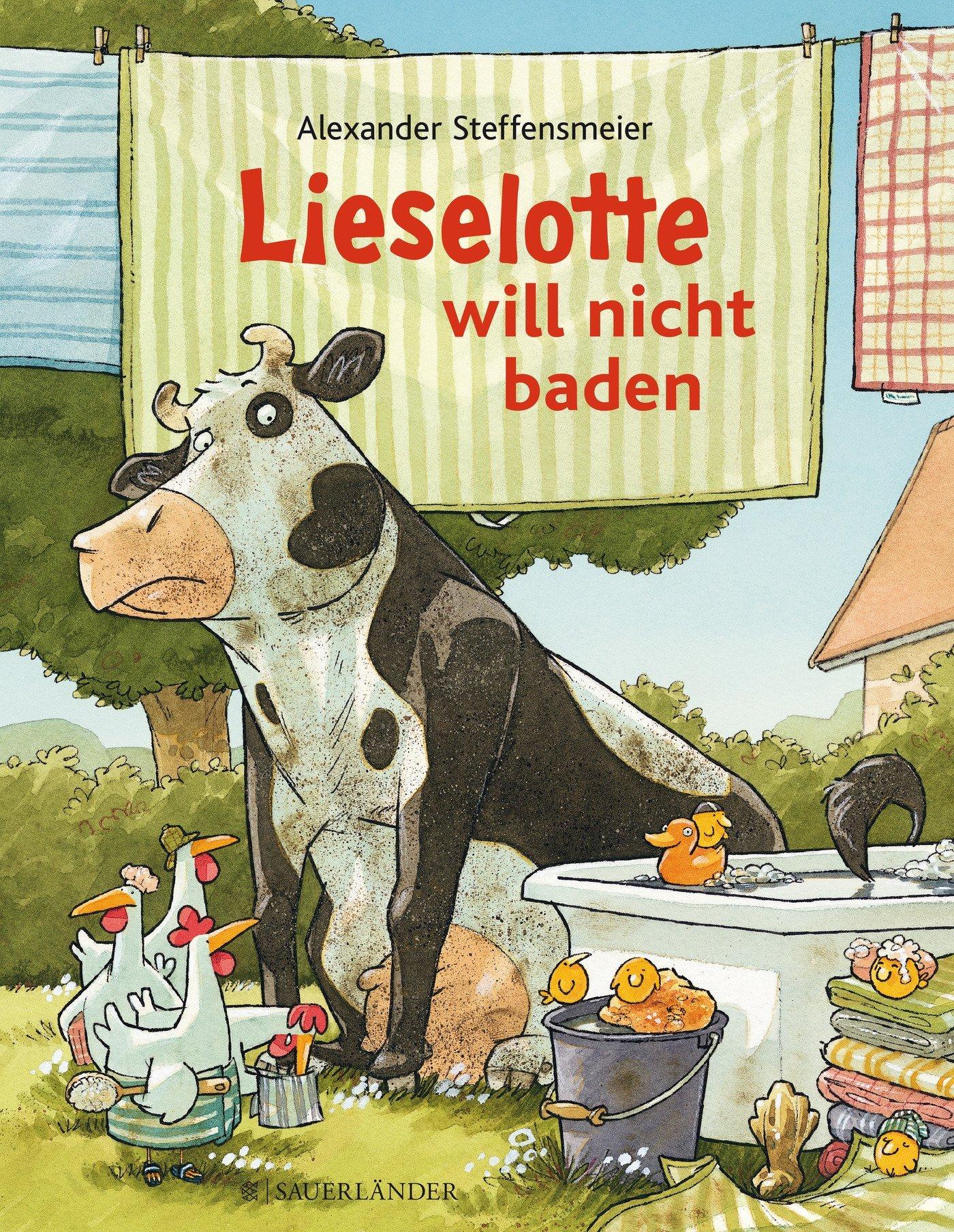 Vorlesestunde in der Stadtbibliothek: Lieselotte will nicht baden