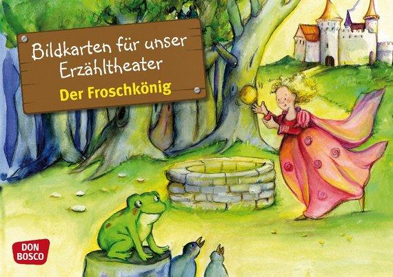 Vorlesestunde in der Stadtbibliothek: Der Froschkönig