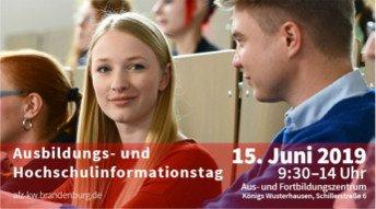 Ausbildungs- und Hochschulinformationstag 2019