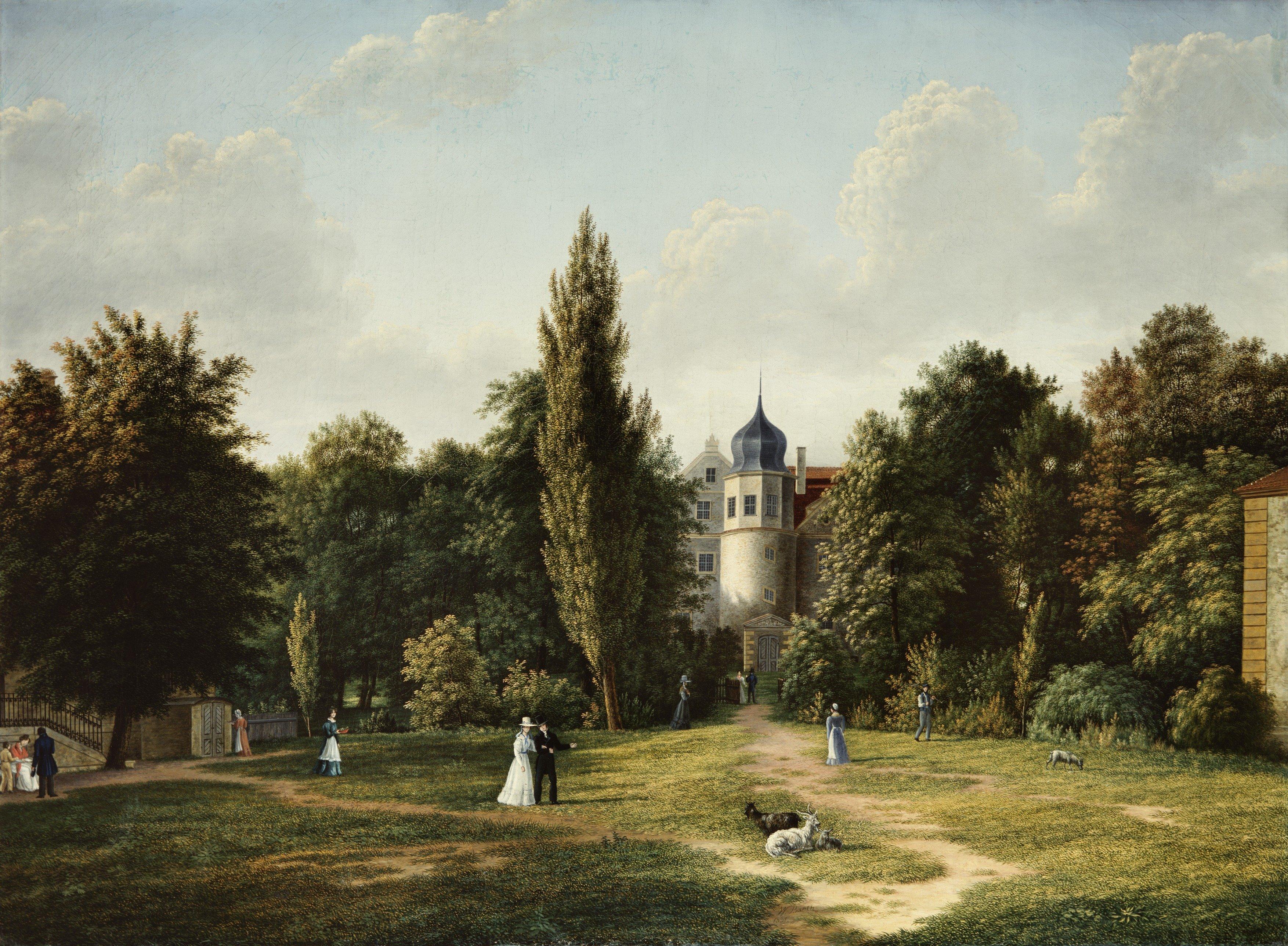 quot;Das verzauberte Schlossquot;. Eine Pfingstfahrt mit Theodor Fontane in den Teltow