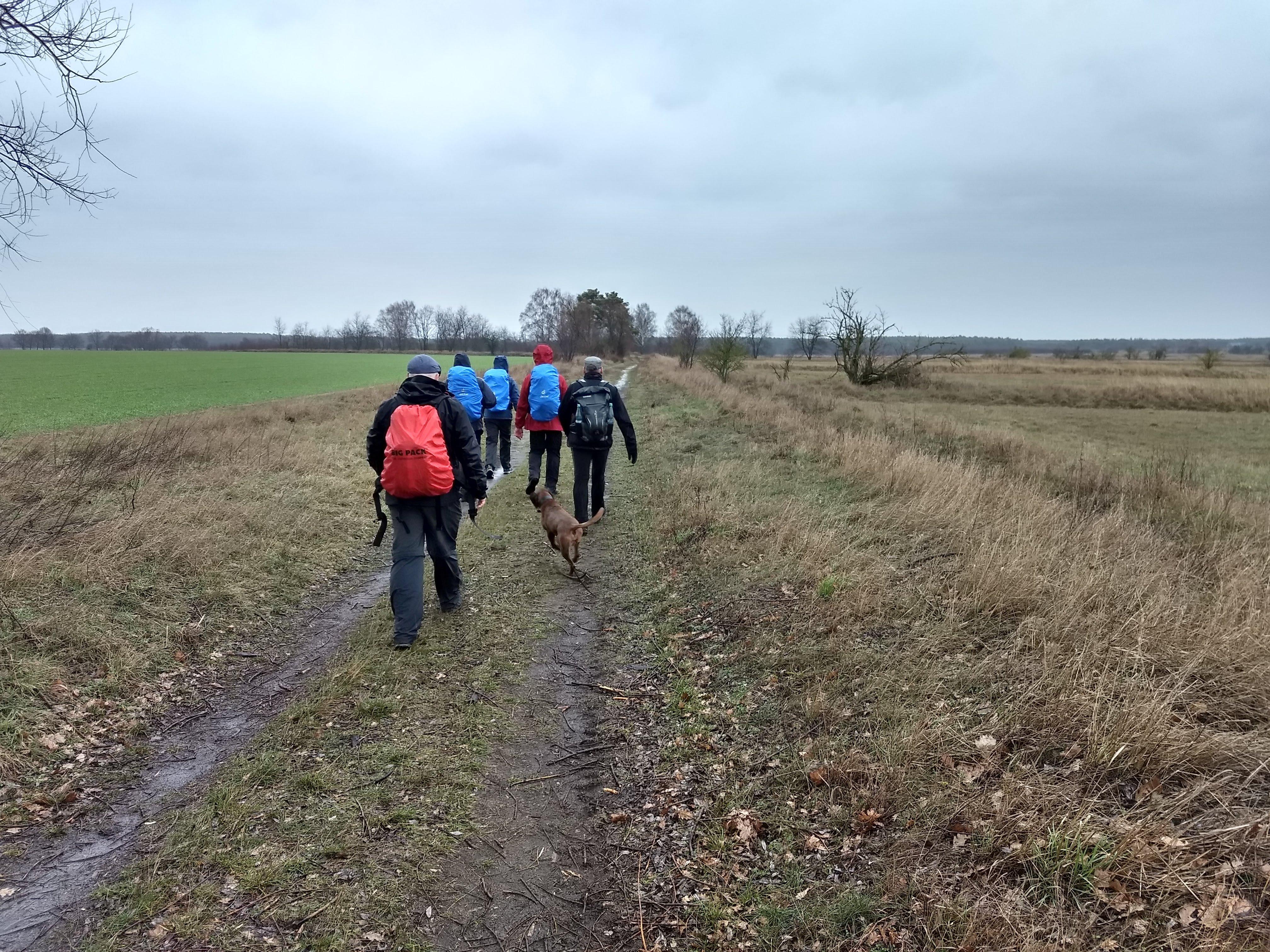 42 km-Marathonwanderung von Königs Wusterhausen nach Grünau