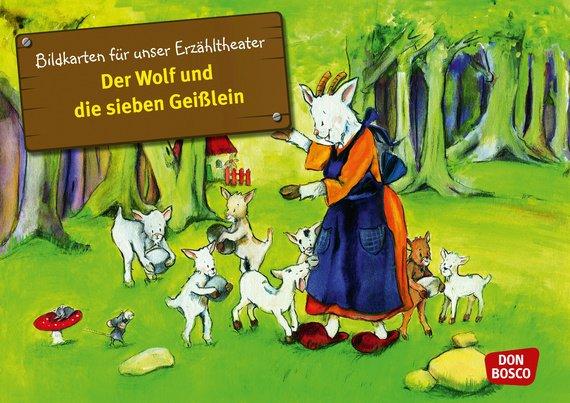 Vorlesestunde in der Stadtbibliothek: Der Wolf und die sieben Geißlein