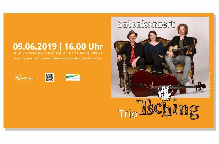 """Salonkonzert mit dem """"Trio Tsching"""""""