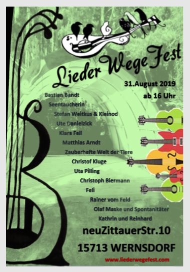LiederWegeFest