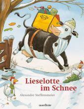 Vorlesestunde in der Stadtbibliothek: Lieselotte im Schnee