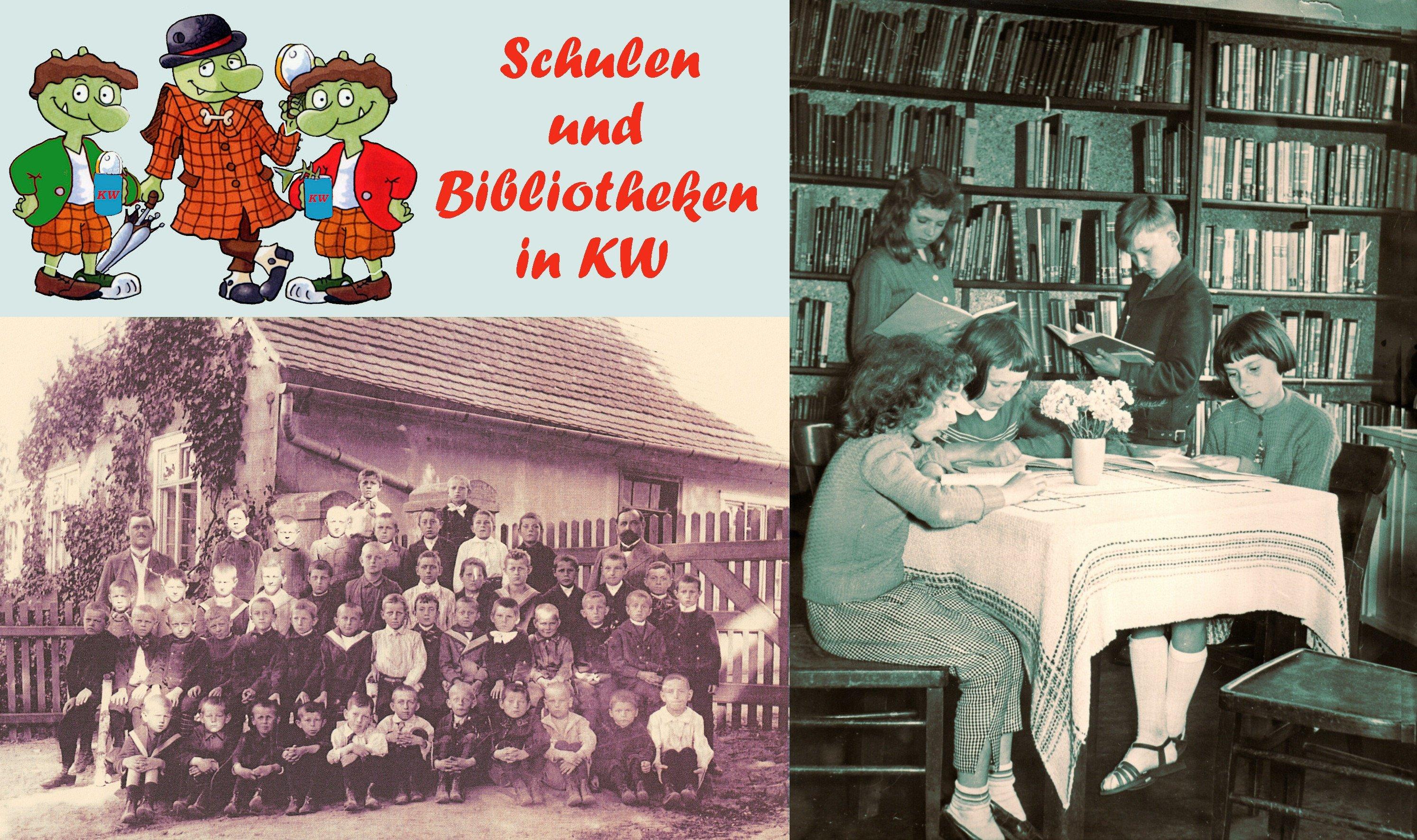 Die KW-Detektive: Schulen und Bibliotheken von Königs Wusterhausen