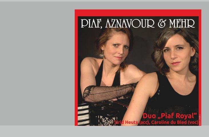 """Chansonkonzert """"Piaf, Aznavour und mehr"""""""